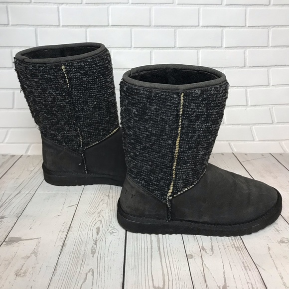 Esprit furry lined boots